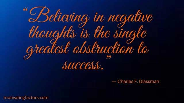 quotes on negative thought