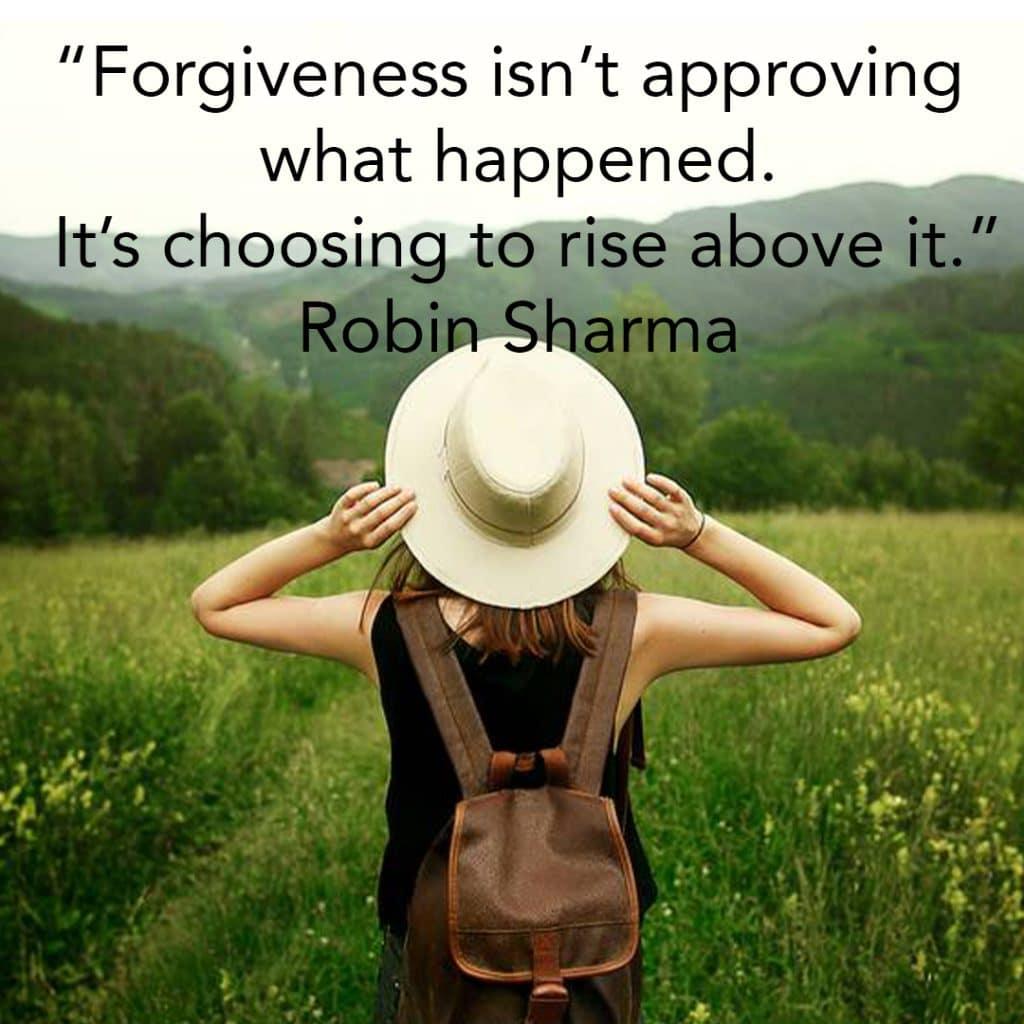 power of forgiving